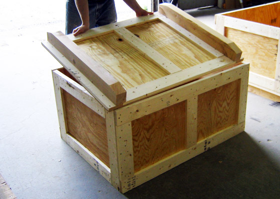 Shipping Crates Manufactured By Cdc Packaging In New England