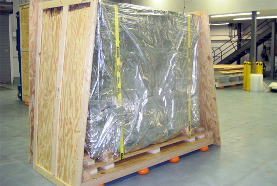 Cushioned Crates - Shipping Crates