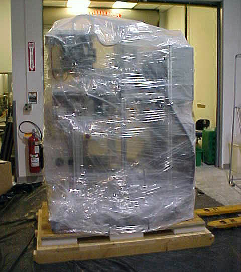 Sensitive Equipment with Protective Packaging