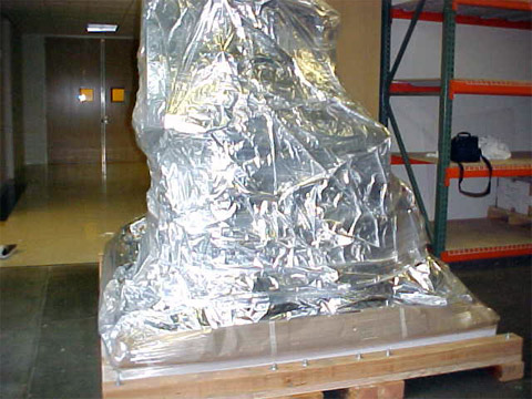 Protect Equipment with Foil Bag