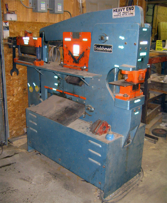 Ironworker - We make custom brackets