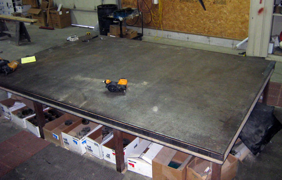 Steel Nailing Table
