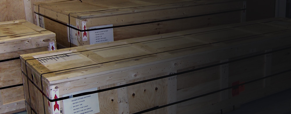 Shipping Crates and Skids